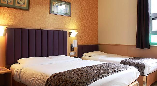 ユーロトラベラー ホテル プレミア タワー ブリッジ - ロンドン - 寝室