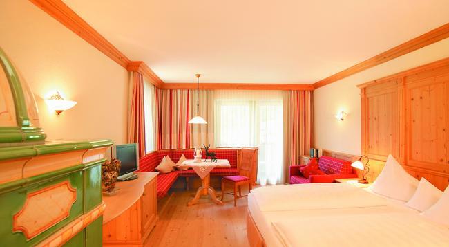 リビング&スパ ヴィタルホテル エーデルワイス - Neustift im Stubaital - 寝室
