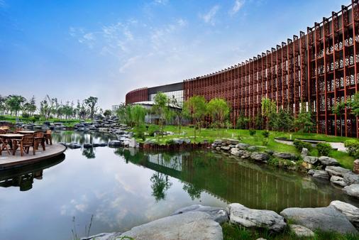 ジン ジャン インターナショナル ホテル シーアン - 西安市 - 建物