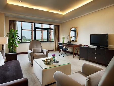 ジン ジャン インターナショナル ホテル シーアン - 西安市 - リビングルーム