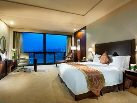 ジン ジャン インターナショナル ホテル シーアン - 西安市 - 寝室