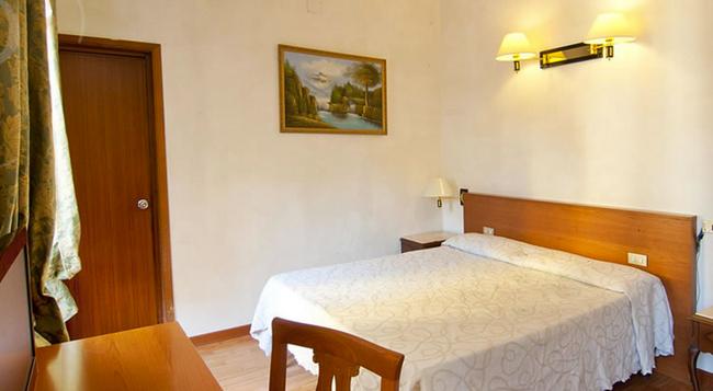 レプブリカ ホテル ローマ - ローマ - 寝室