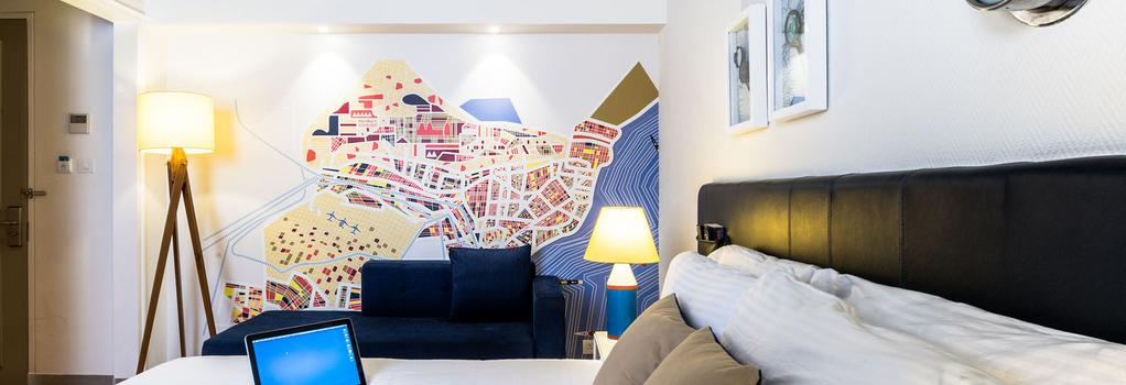 The Port Hotel - ヴィシャーカパトナム - 寝室