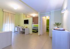 Hotel Residence Ulivi e Palme - カリアリ - リビングルーム