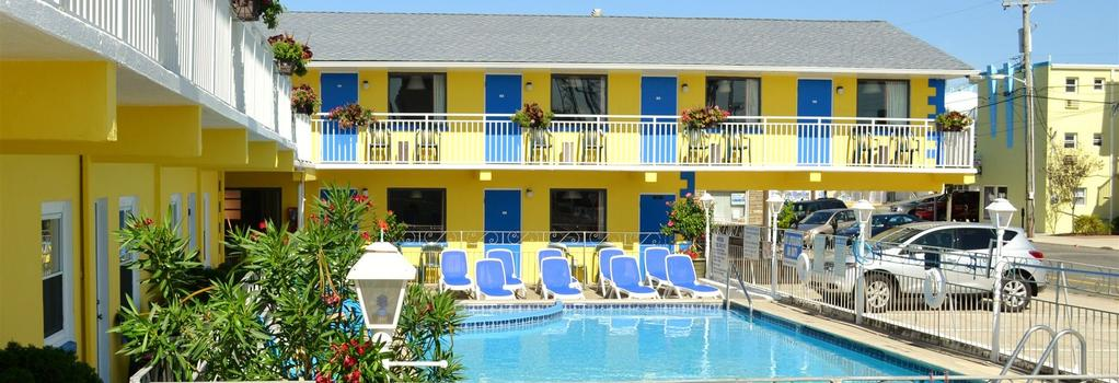 Nantucket Inn & Suites - ワイルドウッド - 建物