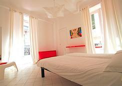 ニース アート ホテル - ニース - 寝室