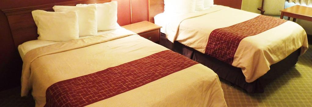 Red Roof Inn Meridian - Meridian - 寝室