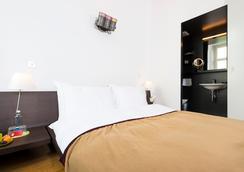 デザイン ホテル プラッテンホフ - チューリッヒ - 寝室