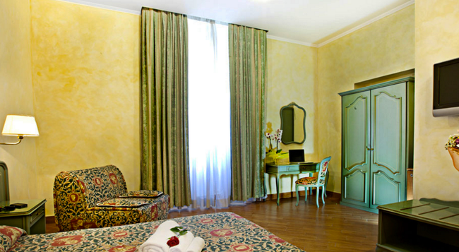 ホテル アウグステア - ローマ - 寝室