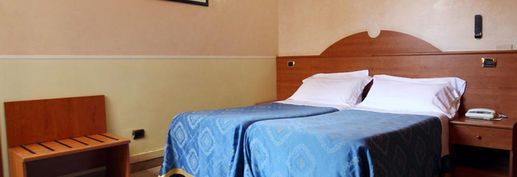 ホテル バルティック - ローマ - 寝室