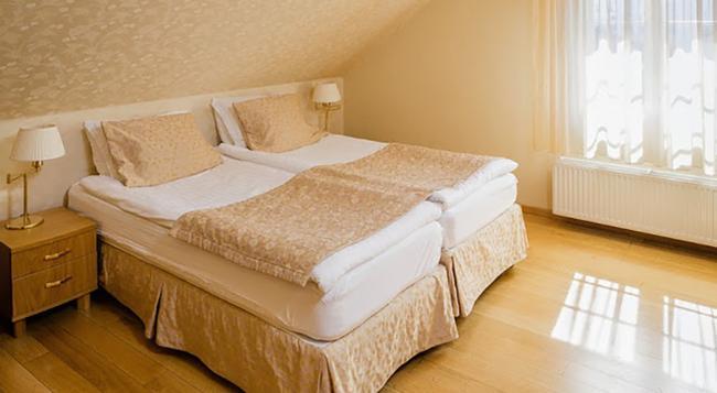 センターホテル プラザ - レイキャヴィク - 寝室