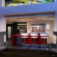 ブルックシャイアー スイーツ バルティモア インナー ハーバー Brookshire Suites Baltimore Lobby Lounge Coming January 2014