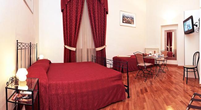 ラ ロカンディエラ - フィレンツェ - 寝室