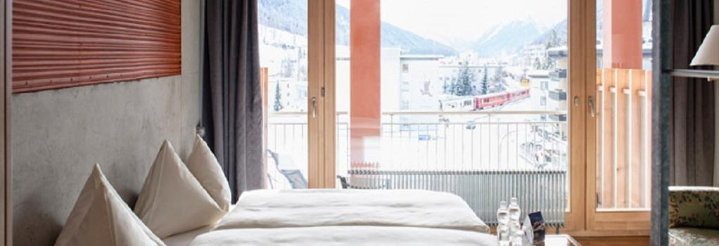 Hotel Ochsen - ダヴォス・プラッツ - 寝室