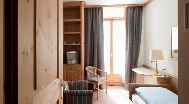 Hotel Davoserhof - ダヴォス・プラッツ - 寝室