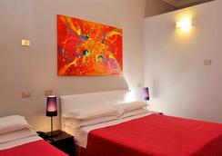 ホテル カラーズ - ローマ - 寝室