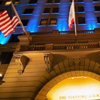 スタンフォードコート サンフランシスコ Hotel Front - Evening/Night