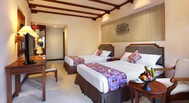 バリ マンディラ ビーチ リゾート & スパ - クタ - 寝室
