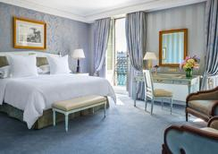 Four Seasons Hotel des Bergues Geneva - ジュネーブ - 寝室