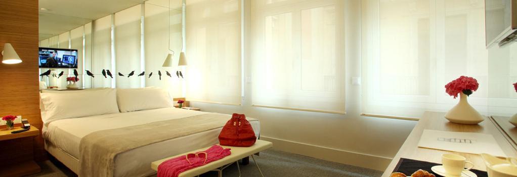 パーク ホテル - バルセロナ - 寝室