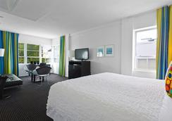 アルビオン ホテル - マイアミ・ビーチ - 寝室