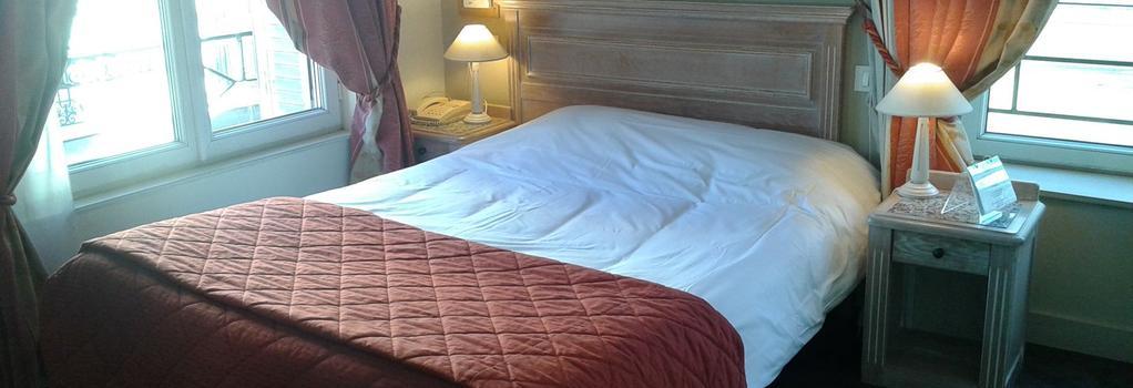 ホテル オ サクル - ランス - 寝室