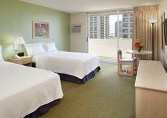 アンバサダーホテル ワイキキ - ホノルル - 寝室