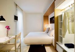 ホテル デニット バルセロナ - バルセロナ - 寝室