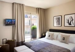ホテル ムルムリ バルセロナ - バルセロナ - 寝室