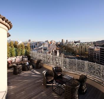 マジェスティック ホテル & スパ バルセロナ - バルセロナ - バルコニー