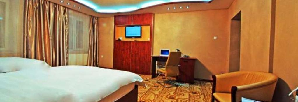 カイザー ホテル - ウランバートル - 寝室